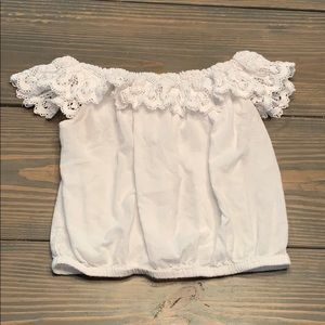 Mossimo Off The Shoulder Crop Top